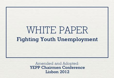 fighting youth unemployment the effects of active labor representatives of 33 centre right youth organizations