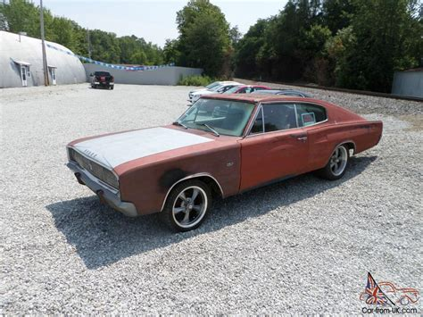 rare muscle 1967 dodge charger 383 hipo 4 speed rare muscle car