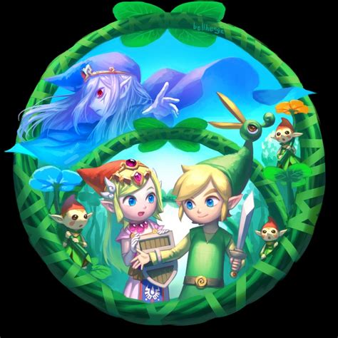 The Legend Of The Minish Cap Wiki Fandom Powered By Wikia The Minish Cap By Bellhenge On Deviantart
