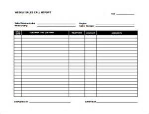 Sales Report Templates by Sle Sales Report Template 7 Free Documents