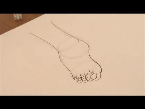 imagenes faciles para dibujar de la naturaleza c 243 mo dibujar un pie dibujos de la naturaleza youtube