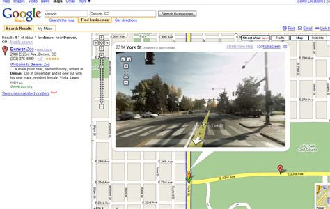 google images viewer streetview maps