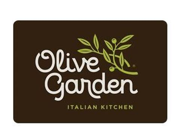 Olive Garden Gift Card Online - free olive garden 5 gift card 1 200 winners
