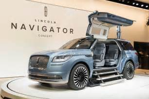impressions 2016 lincoln navigator concept ford authority