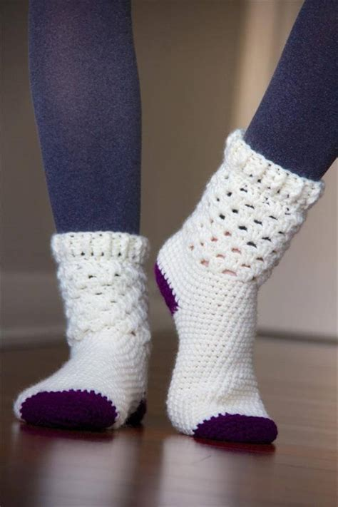 5 free crochet socks pattern diy and crafts