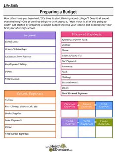 all worksheets 187 independent living skills worksheets