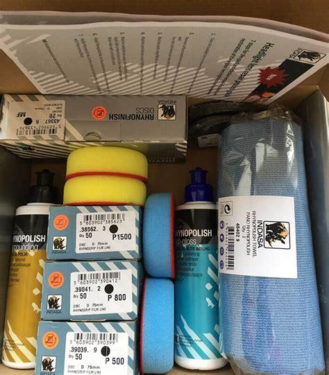 kit para pulir faros kit para pulir faros juego completo para lijar y pulir los