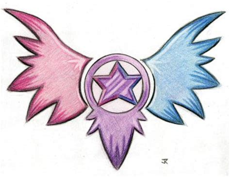 bi star tattoo design by jrthemonsterboy on deviantart