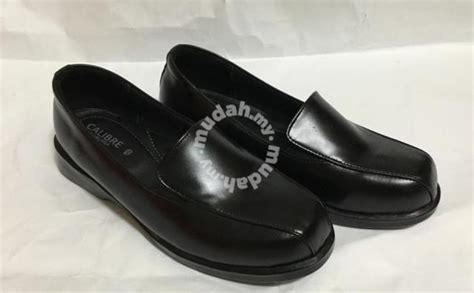 Sandal Wanita All Slip On Shoes Black Hitam kasut kulit wanita shoes for sale in usj selangor