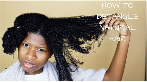 wet set 4c hair how to properly finger detangle thick 4a 4b 4c natural
