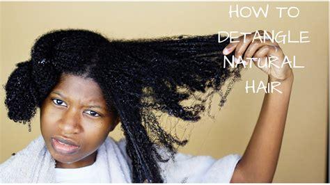 wet set 4c hair wet set natural 4b hair how to properly finger detangle