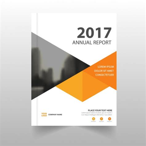 free report cover page template download best annual report template
