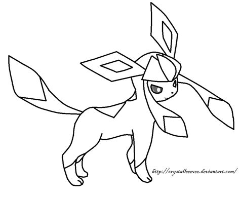Pokemon Coloring Pages Glaceon | pokemon glaceon coloring pages images pokemon images
