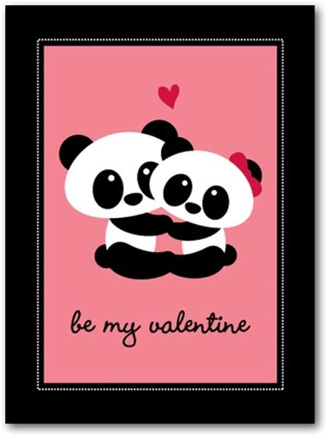 valentines day panda panda friends s day cards for in ballet