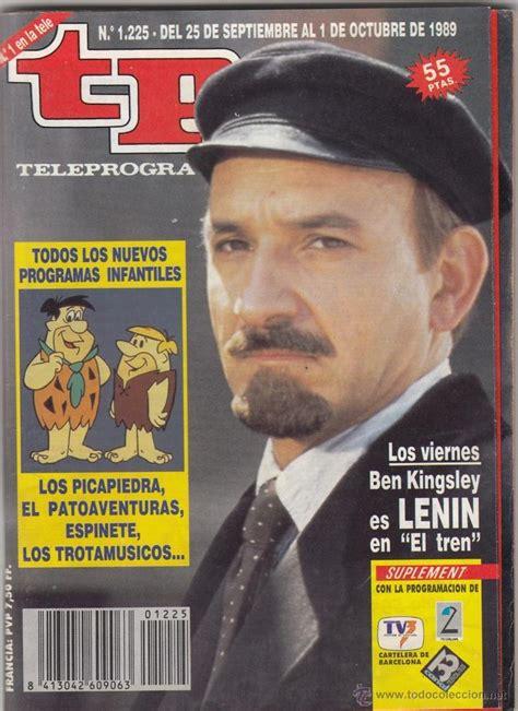 el tren de lenin 8416771448 revista tp teleprograma n 186 1225 a 241 o 1989 ben k comprar