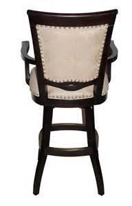Wooden Swivel Bar Stools With Arms Bar Stools Wood Swivel Stool 400 With Arms