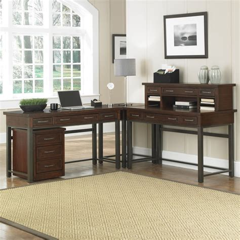 cabin creek corner l desk cabin creek corner quot l quot desk mobile file homestyles