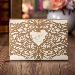 laser cut wedding invitations wholesale aliexpress buy wholesale wedding invitations