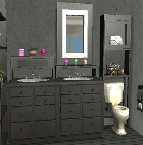 sims 2 bathroom mod the sims glasswood bathroom set