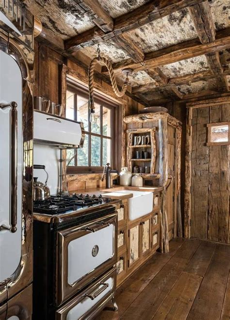 simple rustic cabin kitchen make mine rustic in 2019