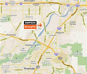 map of riverside california directions to riverside california facility
