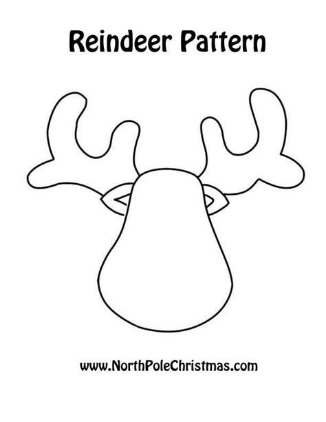 small printable reindeer 30 wonderful diy felt ornaments for christmas free