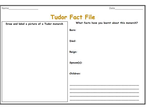 fact file template ks2 tudor fact file by tmh 23 teaching resources tes