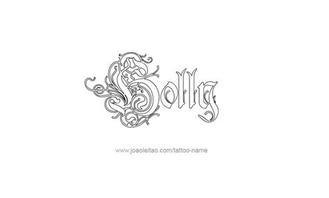 holly tattoo designs name designs