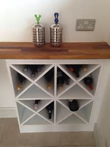 Do It Yourself Kitchen Islands diy wine rack do it yourself pinterest