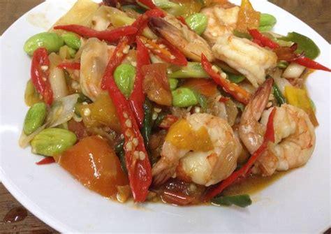 Udang Tauco resep udang tauco medan tahun baru oleh ekitchen cookpad