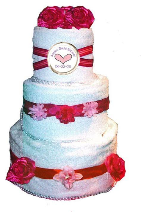 bridal shower towel cake decorations wedding towel cakes ideas idea in 2017 wedding