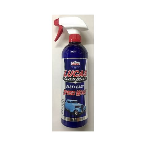 Lucas Slick Mist Speed Wax lucas slick mist speed wax 710ml automotive paint supplies