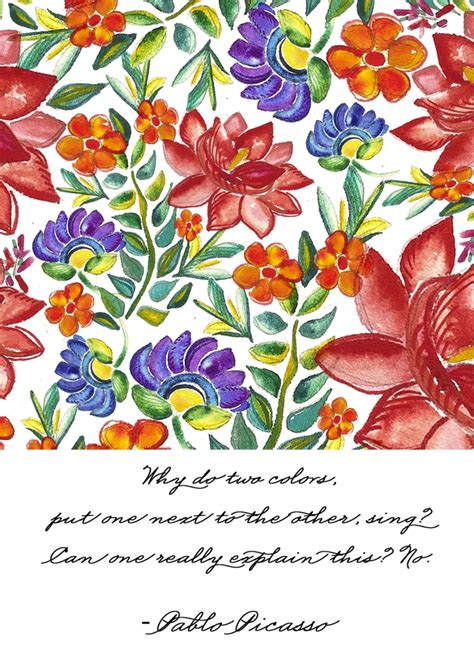A Floral Pattern In Spanish | inspirations spanish inspired floral pattern in