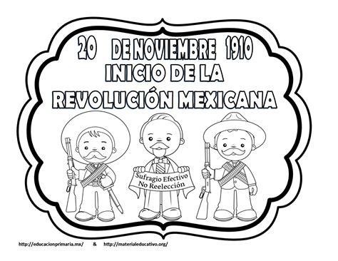 Dibujos Para Colorear De La Revolucion Mexicana 20 De Noviembre ...