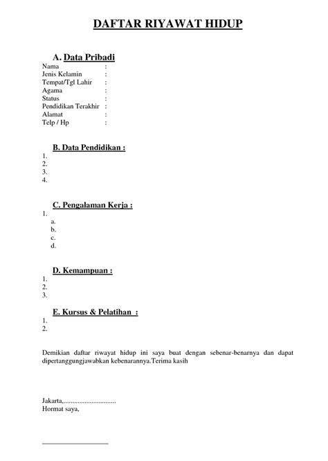 contoh cv microsoft word gontoh contoh resume microsoft word lengkap