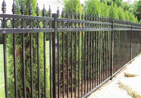 decorative fence definition aluminum and wrought iron aluminum and wrought iron robell