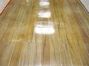how to stain indoor concrete