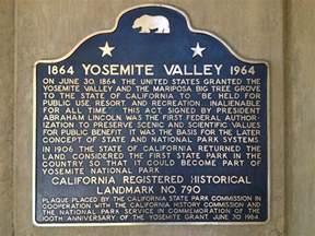 California House yosemite valley historical marker california historic l