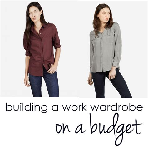 Work Wardrobe On A Budget by Guest Post The Politesse On How To Build A Work Wardrobe