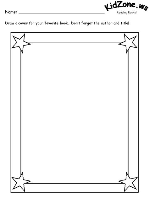 printable book cover template the gallery for gt blank book cover printable