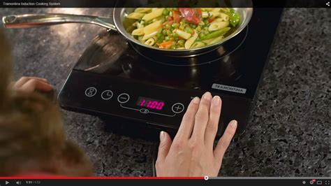 induction cooking safety tramontina induction cooktop kit rvers and cers are going to