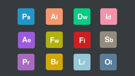 35 Adobe Product & App Icon Sets (Updated For 2018) - 365 ...