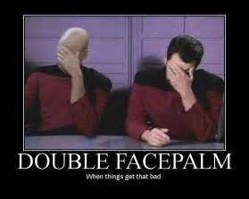 Double Picture Meme Generator - double facepalm meme
