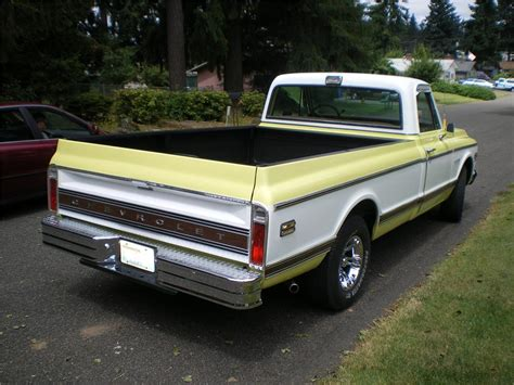 long bed 1972 chevrolet c 10 long bed pickup 93439