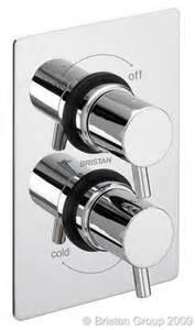Bristan Prism Bath Shower Mixer Bristan Prism Dual Control Thermostatic Mixer Shower Valve