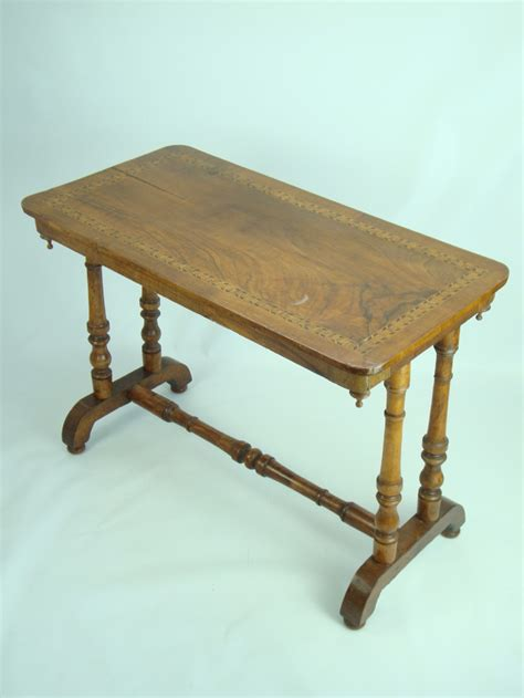 Vintage Hallway Table Antique Walnut Table 234416 Sellingantiques Co Uk