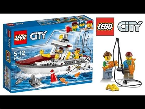 lego city fishing boat speed build lego city fishing boat 60147 speed build youtube