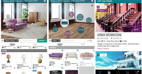 home design app gallery design home is a game for interior designer wannabes