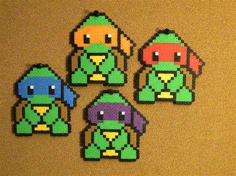 Turtle Perler Bead Perler Bead Designs And