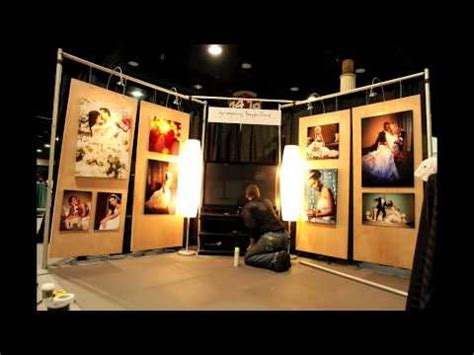 time lapse of bridal show booth setup    gregory byerline